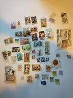 Postage Stamps Lot World Wide Countries - Used Foreign collection