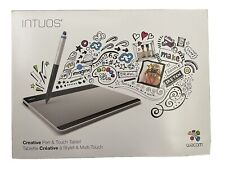 Wacom Intuos Creative Pen & Touch Small Tablet - Silver (CTH-480S)
