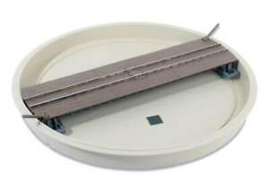 PECO LK-555 Well Type Turntable 0-16.5mm On-30 Gauge (0 Gauge Narrow) - T48 Post