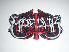 MARDUK BLACK METAL IRON ON EMBROIDERED PATCH
