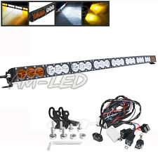 "50"" 270W DUAL LENS CURVED LED LIGHT BAR SINGLE ROW OFFROAD SUV UTE 4WD DRIVING"