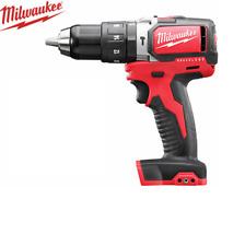 Milwaukee - 18V Li-Ion Cordless 13 mm Hammer Drill Driver - M18BPD-0 - Tool Only