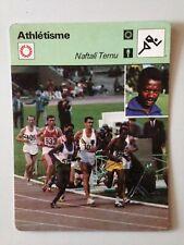 CARTE EDITIONS RENCONTRE 1979 / ATHLETISME - NAFTALI TEMU 10000M J.O 1968