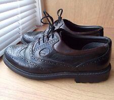 Clarks Men's Lace Up Leather Brogues - Black UK 7 Eur 41