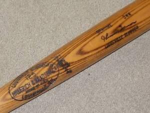 Thurman Munson H&B Game Bat New York Yankees PSA DNA