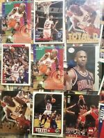 LOT~100 Basketball Cards, 70's-2000's, Rookies, Sets, Holograms,Autographed,etc