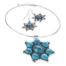 Turquoise Stone Costume Jewellery Sets