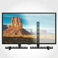 Universal Sound Bar Bracket Under Over TV Wall Mount Speaker for Vizio Samsung
