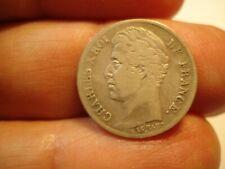 FRANCE  SILVER  1/2   FRANC  1828  A