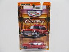 New Matchbox - Cadillac Series - Redish 1963 Cadillac Ambulance