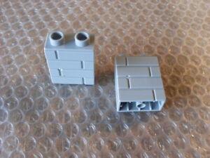 LEGO DUPLO SPARES - BRICK WALL BRICKS  QTY 2