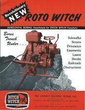 Equipment Brochure - Ditch Witch - Roto Horizontal Boring Attachment (E5285)