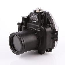 Meikon 40M Waterproof Underwater Housing Dving Case for Olympus E-M5 II 12-50mm