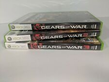Gears of War 1, 2, and 3 (Microsoft Xbox 360)