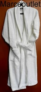 Linum Home 100% Turkish Cotton Personalized Terry Bath Robe LARGE X LARGE White