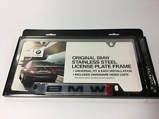 BMW Polished License Plate Frame 82120010395