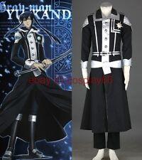 D.Gray Man-yu kanda Exorcist uniform 1th Cosplay Costum