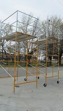 11' Stationary Tower w/ Deluxe Safety Rails