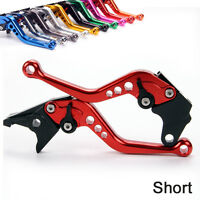 Short Brake Clutch Levers For HONDA CBR125R/150R (2004-2012) red black
