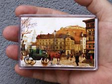 Alte Stad / Kühlschrank oder Office Magnet / Kunstdrucke Maße: 95x65mm S.Hahonin
