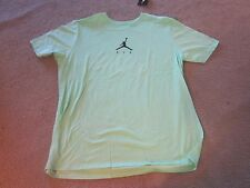 AIR JORDAN lime green T-SHIRT TEE SHIRT XXL 2X - NWT RET $25