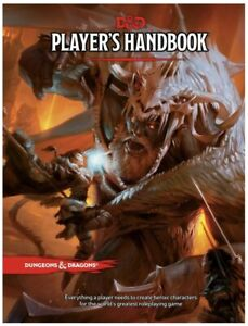 Dungeons & Dragons Players Handbook - Hardback D&D Players Book - 5th Edition
