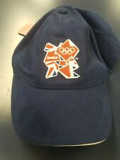 2012 London Olympic Games Cap/Hat Adjustable With Tags. Brim is mis shaped.