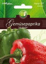 """Gemüsepaprika """"Yola Wonder"""",Saatgut,Capsicum annuum,Gemüse,Chrestensen,PG3"""