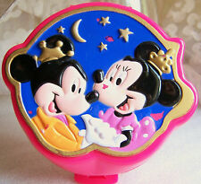 Vintage Polly Pocket Disney Minnie and Mickey mouse playcase complete set BBT's