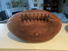Antique Leather Football Vintage Sporting Goods