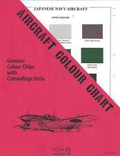 Aircraft Colour Chart: Japanese Navy Aircraft Cc-12