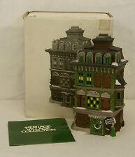 Dept 56 THE FLAT OF EBENEZER SCROOGE Dickens Village Series Building #55875 MIB