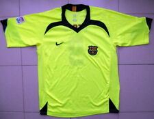 CAMISETA SHIRT AWAY FUTBOL ANTIGUA FC BARCELONA 2005/06 ETO'O NIKE. FOOTBALL