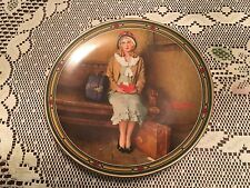 """Norman Rockwell Plate # 1 """"A Young Girl'S Dream"""" American Dream Series"""