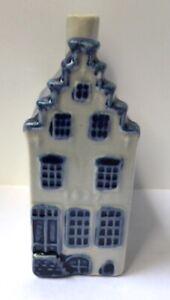 KLM Blue Delft House #2 1952 Restaurant d'Vijff Vlieghen Unsealed