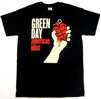 GREEN DAY T-shirt American Idiot Punk Rock Tee Adult S,M,L,XL,2XL,3XL Black New