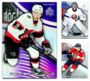 2020-21 UD Triple Dimensions Reflections **** PICK YOUR CARD **** From The LIST