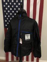 nwt Old Navy Lightweight Nylon Packable Windbreaker Jacket men LARGE black 1c363
