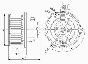 New Blower Motor Global Parts Distributors 2311543