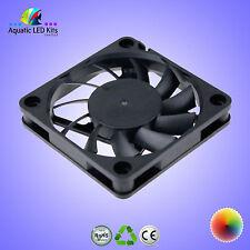 Ventilatore Ultra Sottile (60x60x10mm) 2 PIN 12 V DC Case Ventola, Raffreddamento a LED, CPU (6x6x1cm) Regno Unito