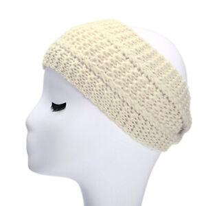 Elegant Strick-Kopfband, warmes Strick Stirnband für Mädchen, Damen Haarband
