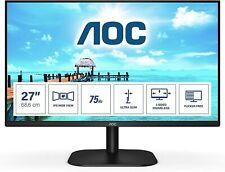 "AOC monitor LED Pc 27"" Full HD 16:9 75 Hz 4 ms IPS VGA/HDMI"