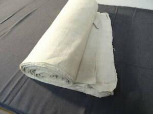 Rolle alter grober Bauernleinen unbenutzt ca.96cm breit