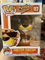 Funko Pop Ad Icons #117 Chester Cheetah Cheetos Glow In Dark Box Lunch Exclusive