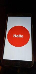 USED Samsung Galaxy J7V Verizon Android Smartphone 16GB SILVER