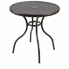 Hampton Bay FTS70387A Steel Frame Construction LED Patio Bistro Table - New