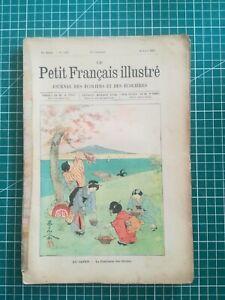 rr313 1904 Petit Français illustré journal écoliers écolières Ed. A Colin N°228