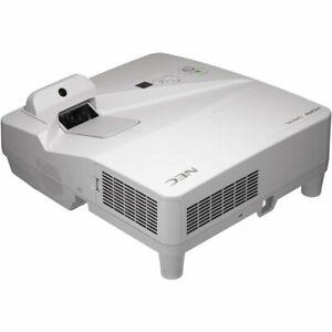NEC UM352Wi 3500 Ansi Lumen 3LCD WXGA Ultra Shorts Projector Whiteboard Nip