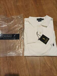 Ralph Lauren Men's New Long Sleeve Custom Fit Polo Shirt Size XL
