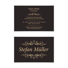 Visitenkarten individuell Business Karten 300g/qm 85 x 55 mm - Viktorianisch